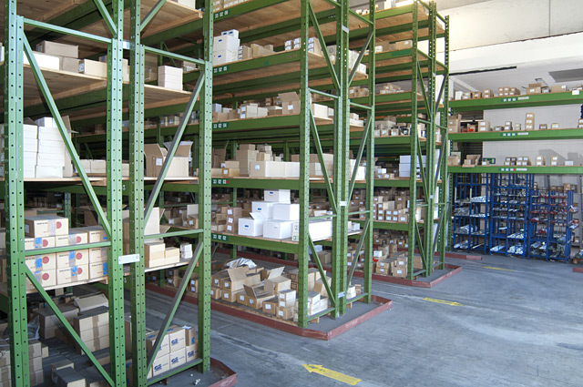 Eurosteel Italia - Standard Products : the Warehouse